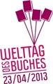 Welttag des Buches 2013 Logo